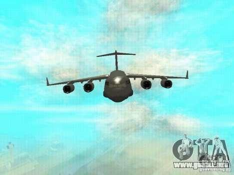 C-17 Globemaster para GTA San Andreas left