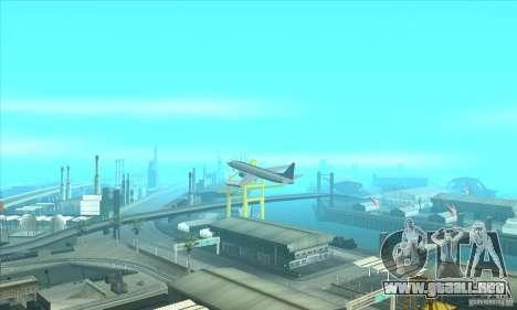 La revitalización de los aeropuertos para GTA San Andreas tercera pantalla