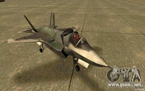 Lockheed F-35 Lightning II para GTA San Andreas