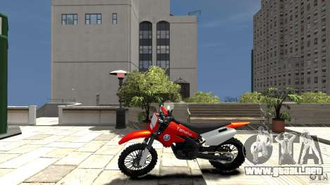 Yamaha Cross para GTA 4 left