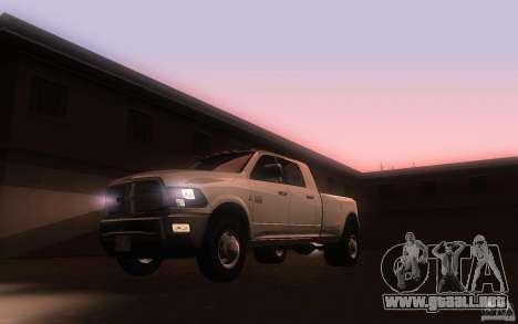 Dodge Ram 3500 Laramie 2010 para GTA San Andreas left