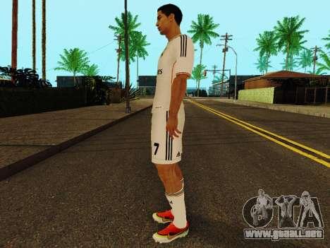 Cristiano Ronaldo v1 para GTA San Andreas tercera pantalla