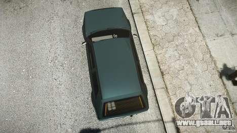 Volkswagen Golf 2 Low is a Life Style para GTA 4 vista interior
