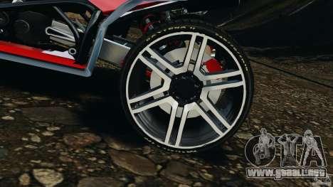 ATV PCJ Sport para GTA 4 vista interior