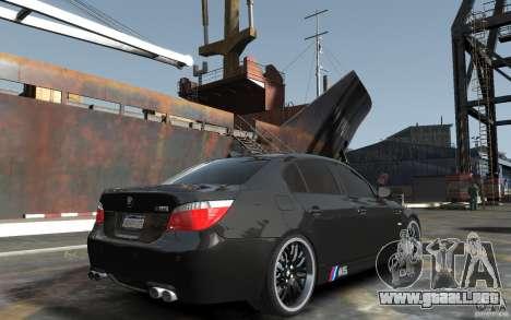 BMW M5 Hamman para GTA 4 visión correcta