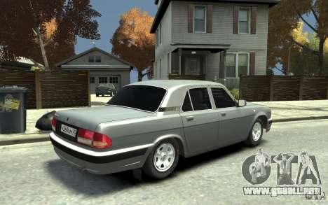 Volga GAZ 31105 para GTA 4 visión correcta