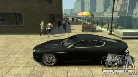 Aston Martin DBS Coupe v1.1f para GTA 4 left
