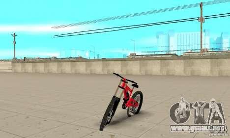 BMX nueva para GTA San Andreas