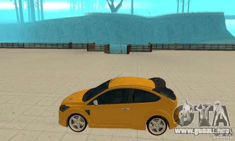 Ford Focus RS para GTA San Andreas left