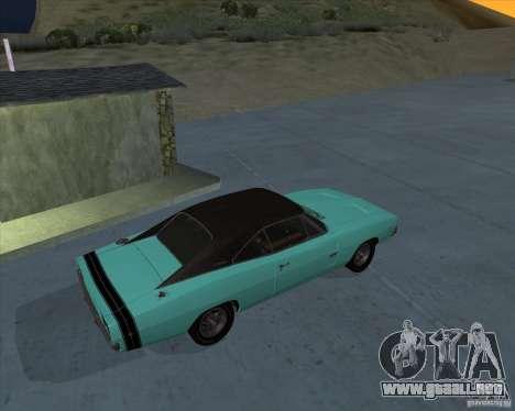 Dodge Charger RT HEMI 1968 para GTA San Andreas left