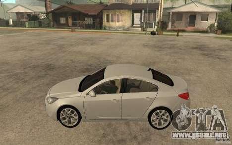 Opel Insignia OPC 2010 para GTA San Andreas left