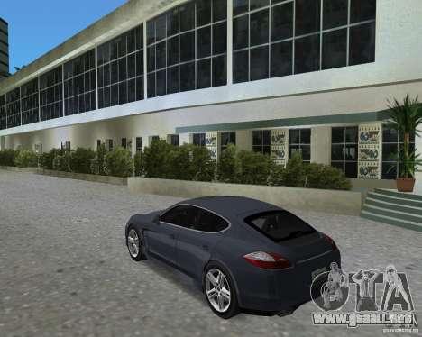 Porsche Panamera para GTA Vice City visión correcta