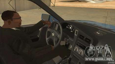 Opel Astra F Tuning para visión interna GTA San Andreas