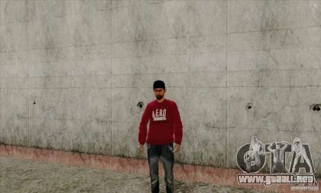 Sustituto de piel Bmyst para GTA San Andreas tercera pantalla
