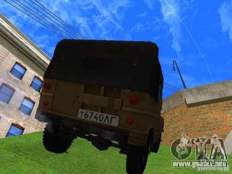 UAZ 460 para GTA San Andreas left