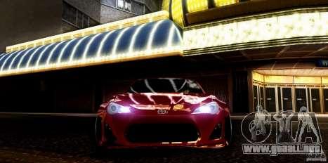Scion FR-S para la visión correcta GTA San Andreas