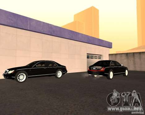Maybach 57S para visión interna GTA San Andreas