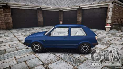 Volkswagen GOLF MK2 GTI para GTA 4 vista interior