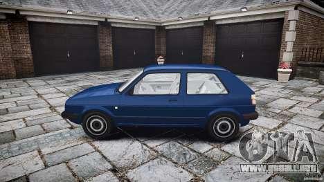 Volkswagen GOLF MK2 GTI para GTA 4 vista interior