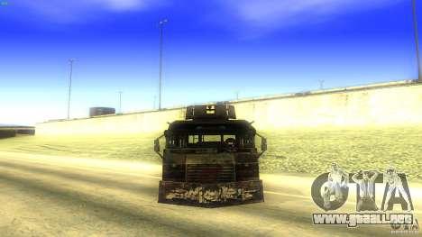 Frontline - MilBus para la visión correcta GTA San Andreas