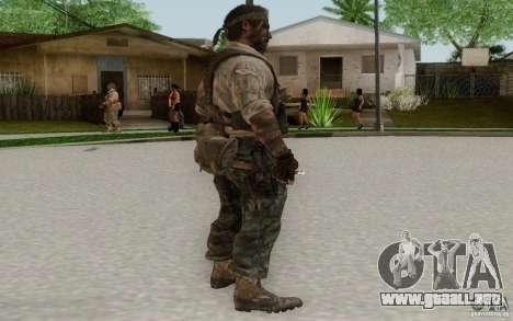 Frank Woods para GTA San Andreas tercera pantalla