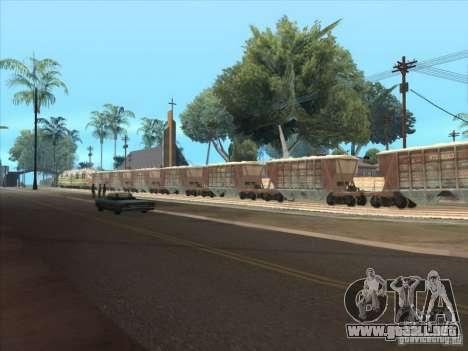 Carros para GTA San Andreas vista posterior izquierda
