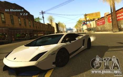SA Illusion-S V2.0 para GTA San Andreas