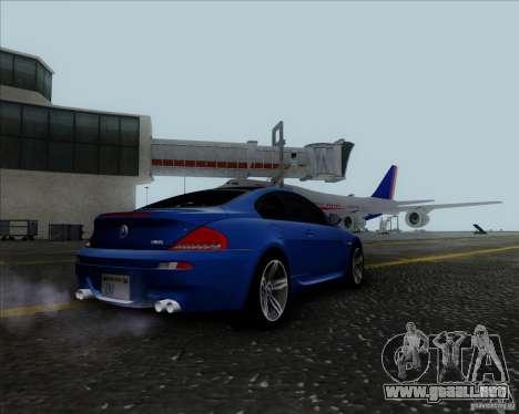 BMW 6 Series M para la visión correcta GTA San Andreas