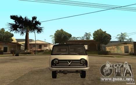 Soroka UAZ-450 para la visión correcta GTA San Andreas