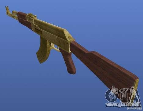 Weapons Retex para GTA 4 segundos de pantalla