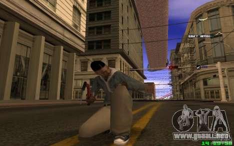 Para romper el hielo (rojo) para GTA San Andreas segunda pantalla