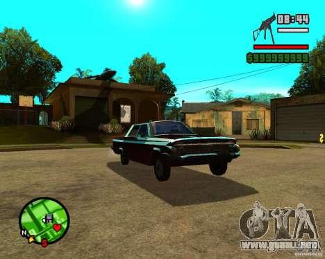 Mercury Mascarpone para GTA San Andreas