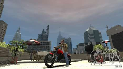 The Lost and Damned Bikes Nightblade para GTA 4 left