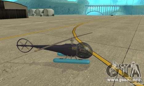 Dragonfly para GTA San Andreas left