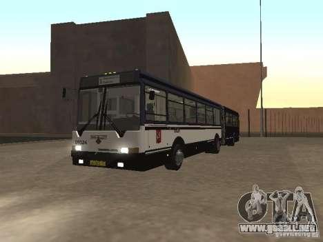 Autobuses 6222 para GTA San Andreas left