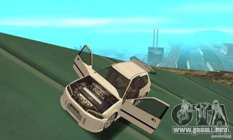 Honda Civic SiR II Tuning para GTA San Andreas vista hacia atrás
