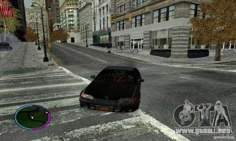 Honda CRX Tuned para GTA San Andreas left