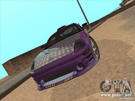 Mitsubishi Eclipse Spyder 2FAST2FURIOUS para la visión correcta GTA San Andreas