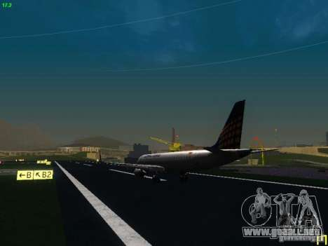 Embraer ERJ 190 Lufthansa Regional para la visión correcta GTA San Andreas