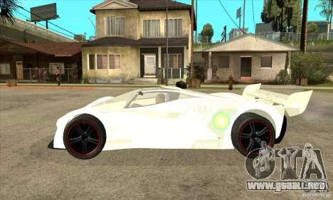 Mazda Furai para GTA San Andreas left