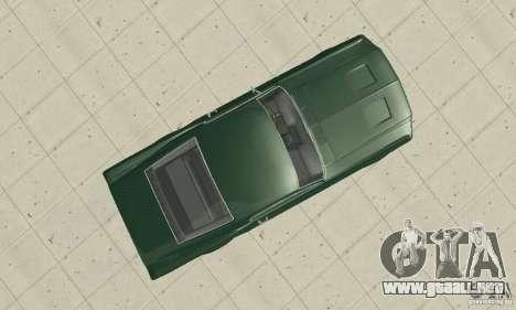 Ford Mustang Bullitt 1968 v.2 para la visión correcta GTA San Andreas