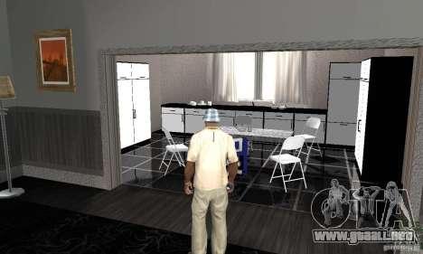 Nuevas texturas interiores para casas seguras para GTA San Andreas segunda pantalla