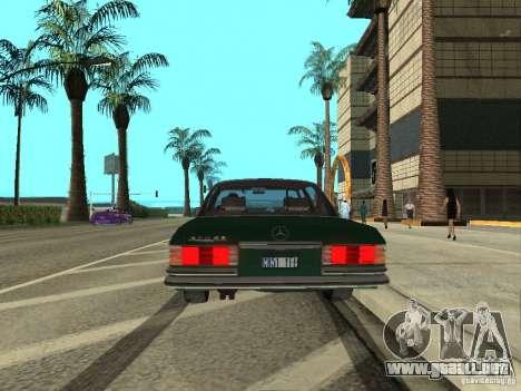 Mercedes - Benz 280SE para la visión correcta GTA San Andreas