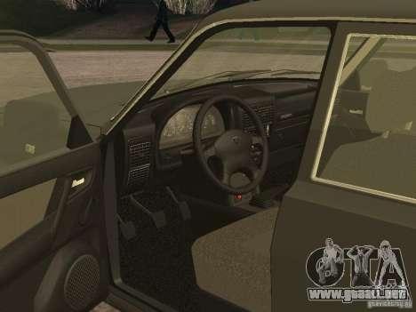 GAZ 3110 v 2 para la visión correcta GTA San Andreas