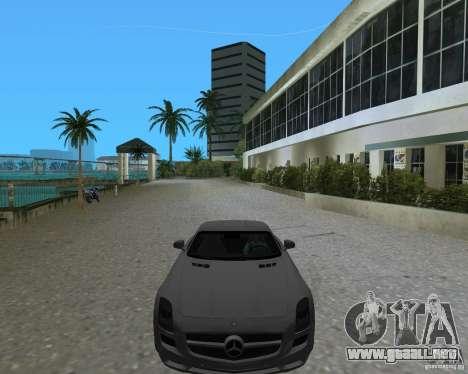 Mercedes Benz SLS AMG para GTA Vice City visión correcta