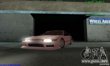 Nissan Silvia S13 Tunable para GTA San Andreas interior