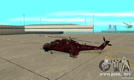 Mi-24 para GTA San Andreas left
