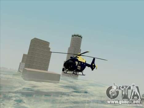 Eurocopter EC-135 Essex para la visión correcta GTA San Andreas