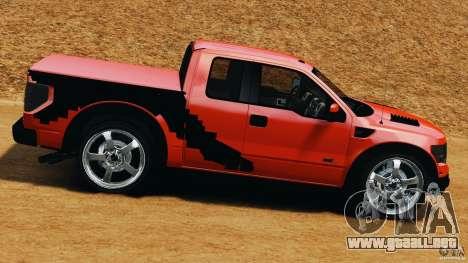 Ford F-150 SVT Raptor para GTA 4 left