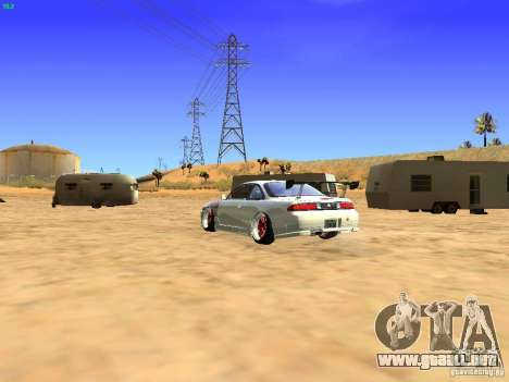 Nissan Silvia S14 JDM para GTA San Andreas left